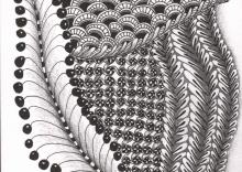 Seeded Zentangle