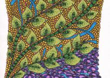 Green Leafer Zentangle