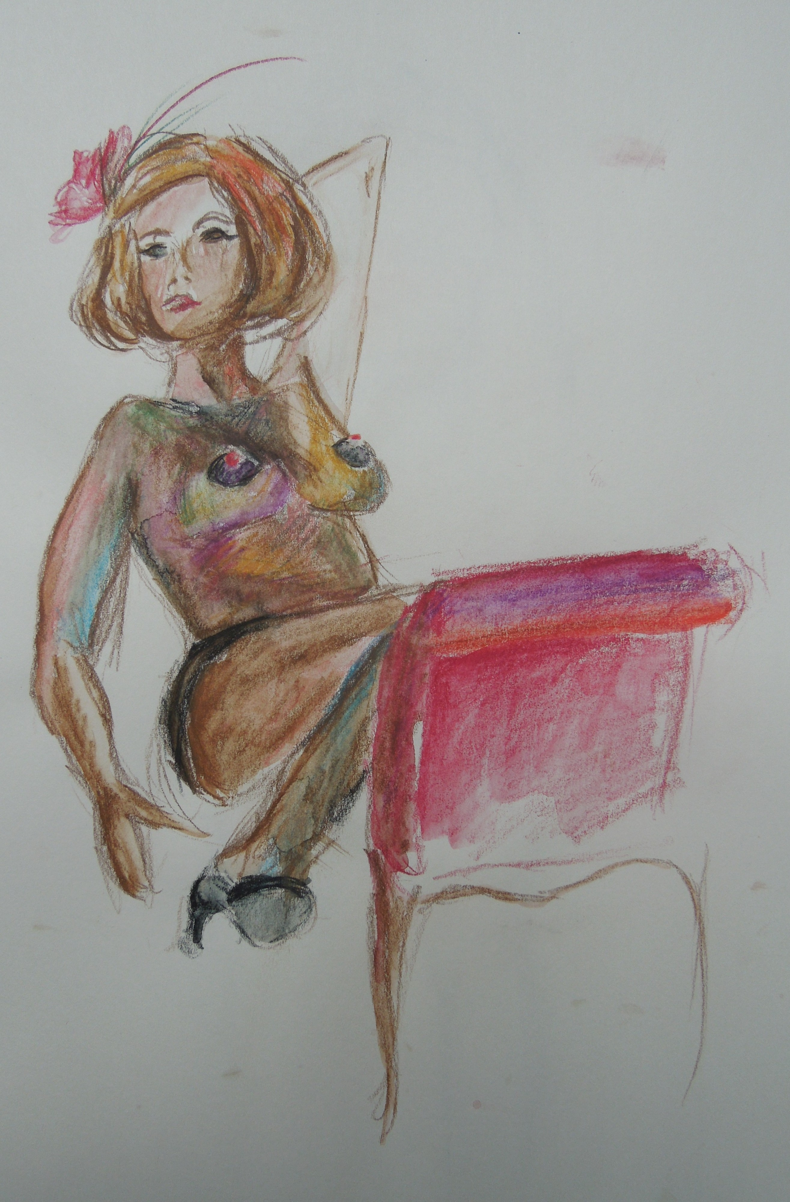 lady on chaise
