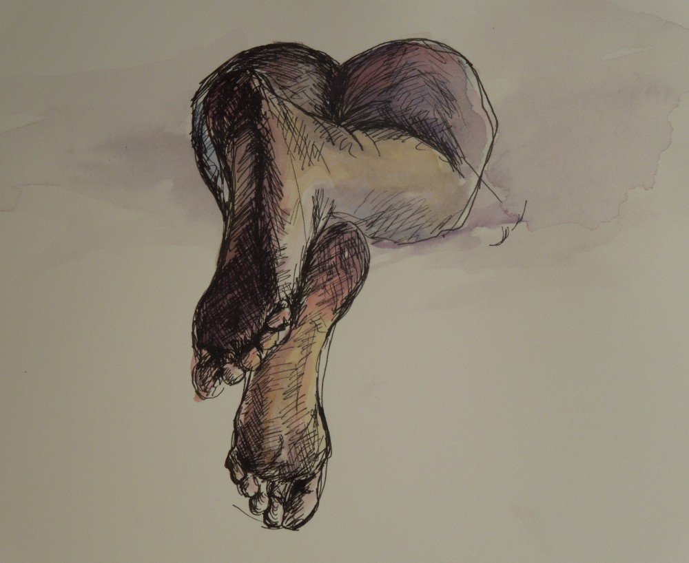 nude feet