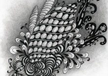 Intertwined Zentangle