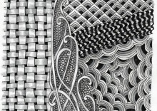 Fenced Zentangle